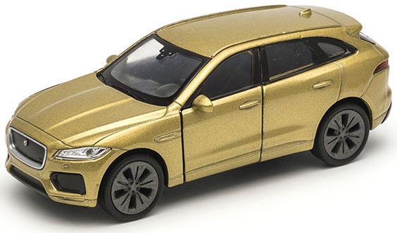 Машинки и мотоциклы Welly Модель машины Welly «Jaguar F-Pace» 1:34-39 в асс. цена