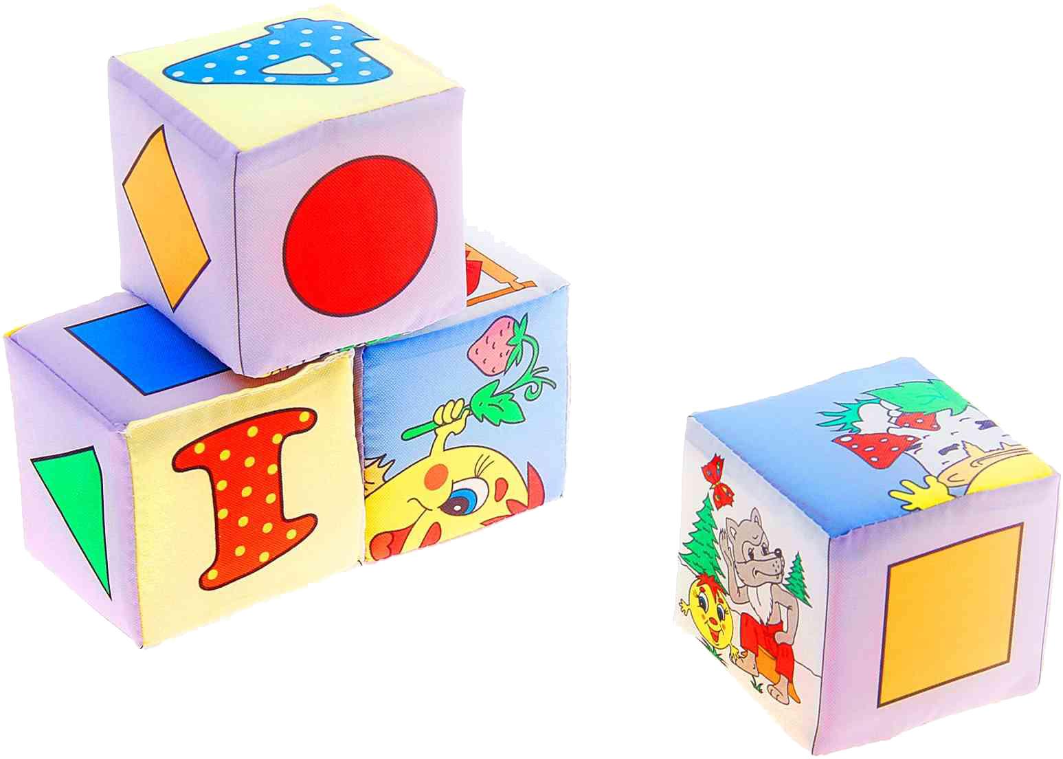 Кубики Дельфин Колобок кубики дельфин д 112 12 сказки