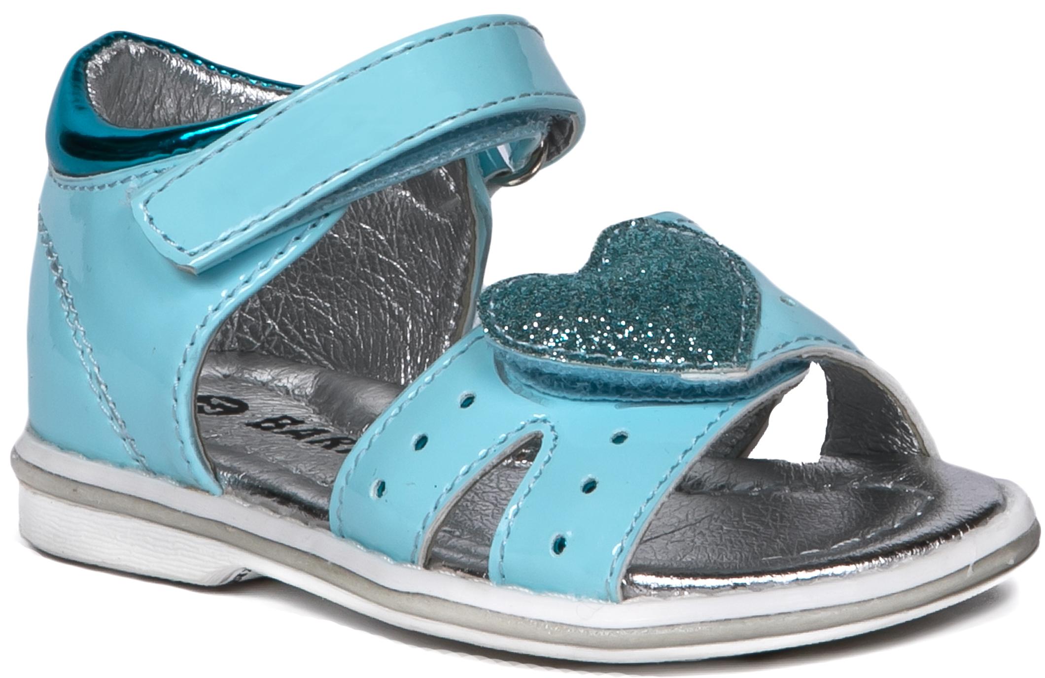 Купить Босоножки, Туфли летние для девочки Barkito, светло-голубой, Китай, Женский