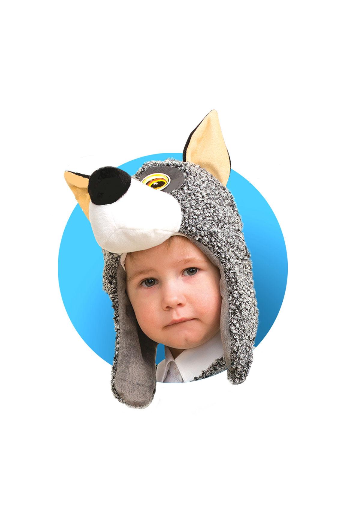 Костюмы и маски Батик Маска Батик «Волчонок» цена