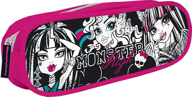 Канцелярия Monster High Школьный centrum пенал monster high цвет фиолетовый черный