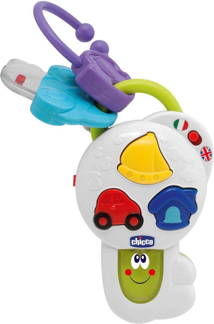 Погремушки CHICCO Развивающая игрушка Chicco «Говорящий ключик» погремушки и прорезыватели chicco