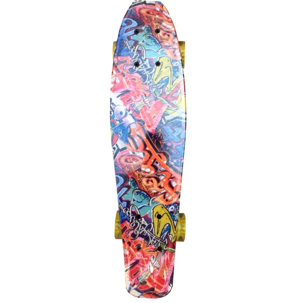 Скейтборд ASE-SPORT ASE-Tiny Aqua-1