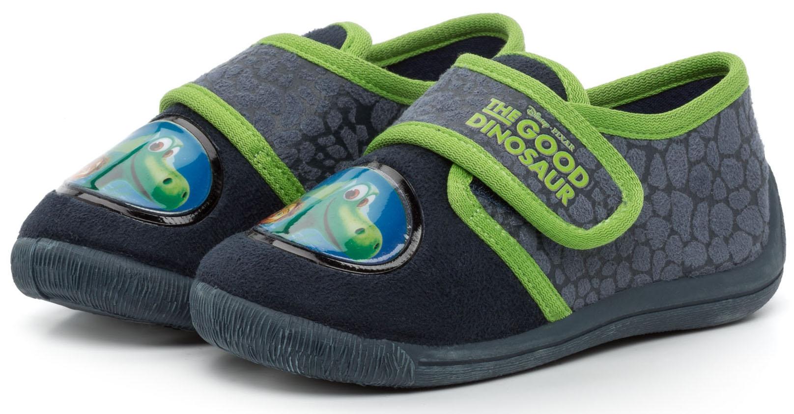 Кроссовки и кеды THE GOOD DINOSAUR Полуботинки для мальчика The Good Dinosaur, темно-синие с зеленой отделкой ботинки the good dinosaur ботинки
