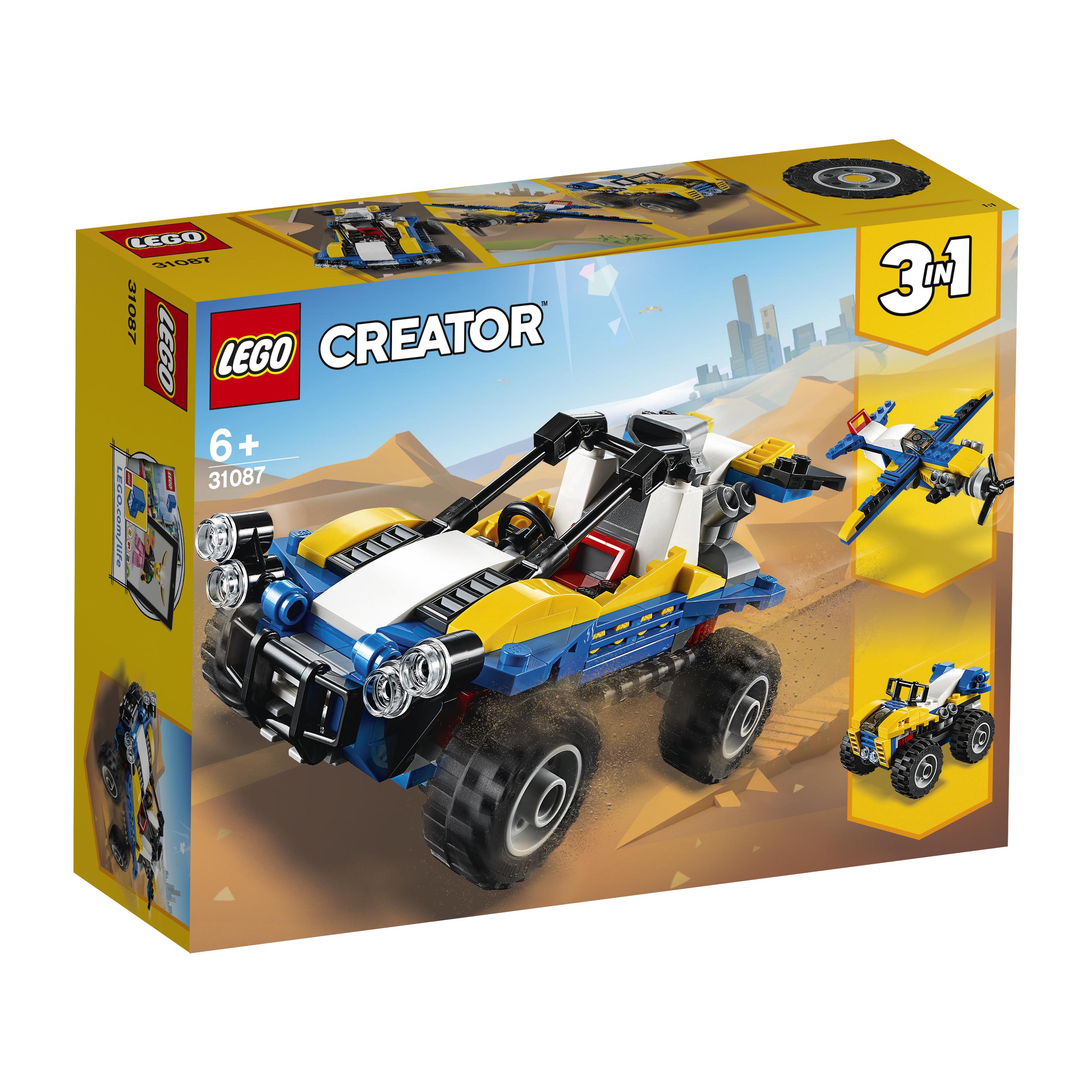 Конструктор LEGO Creator 31087 Пустынный багги lego lego city 60156 багги для поездок по джунглям