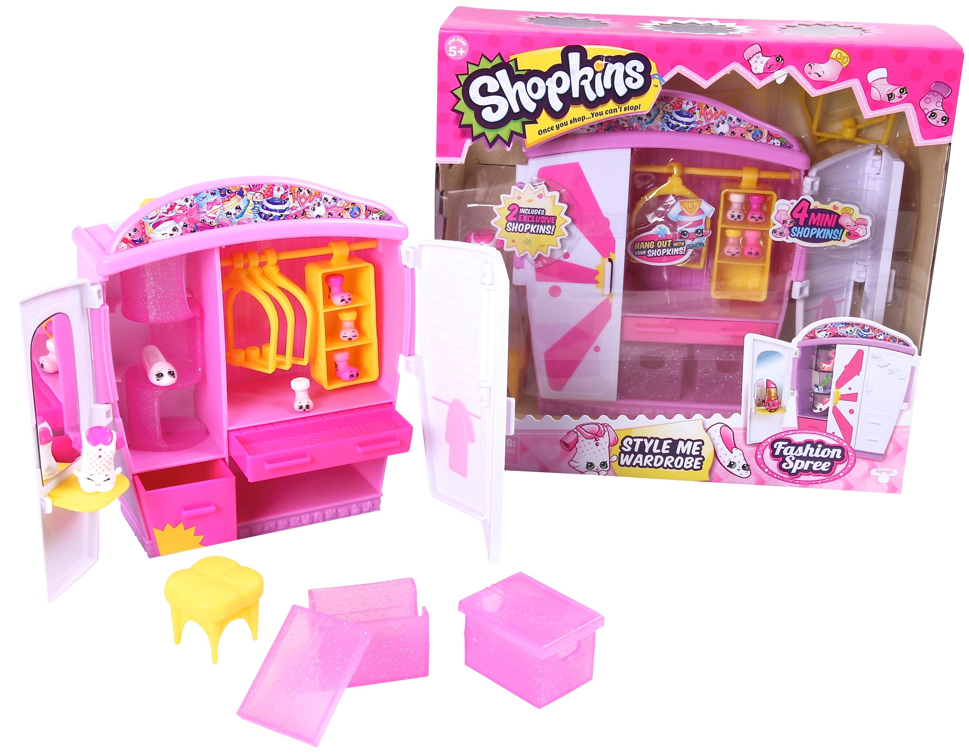 Shopkins Shopkins Модный гардероб игровой набор shopkins 2 героя в корзиночке