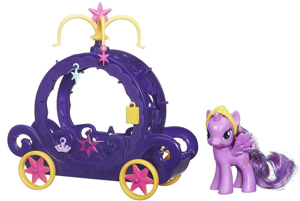 My Little Pony My Little Pony Карета для Твайлайт Спаркл интерактивная игруша my little pony поющая твайлайт спаркл и спайк