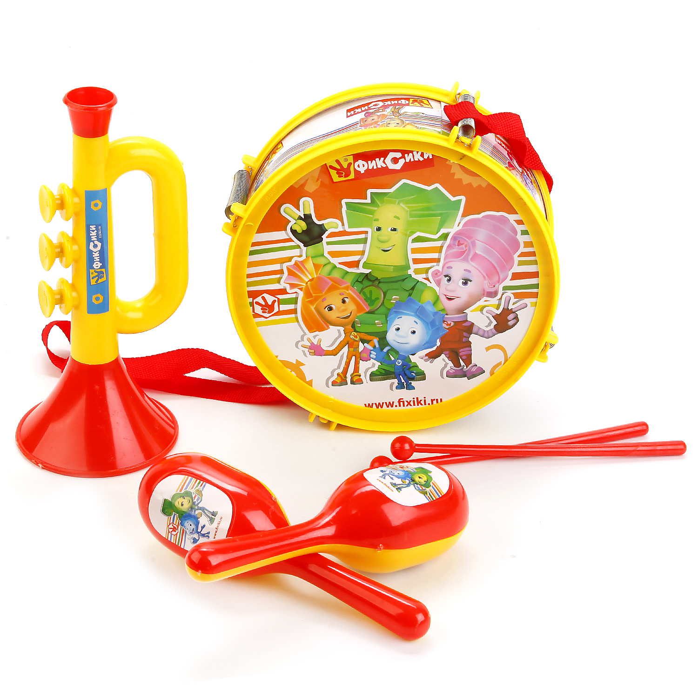 Музыкальные инструменты Играем вместе Набор музыкальных инструментов Играем вместе «Фиксики» набор инструментов ryobi r18ck4a ll99s