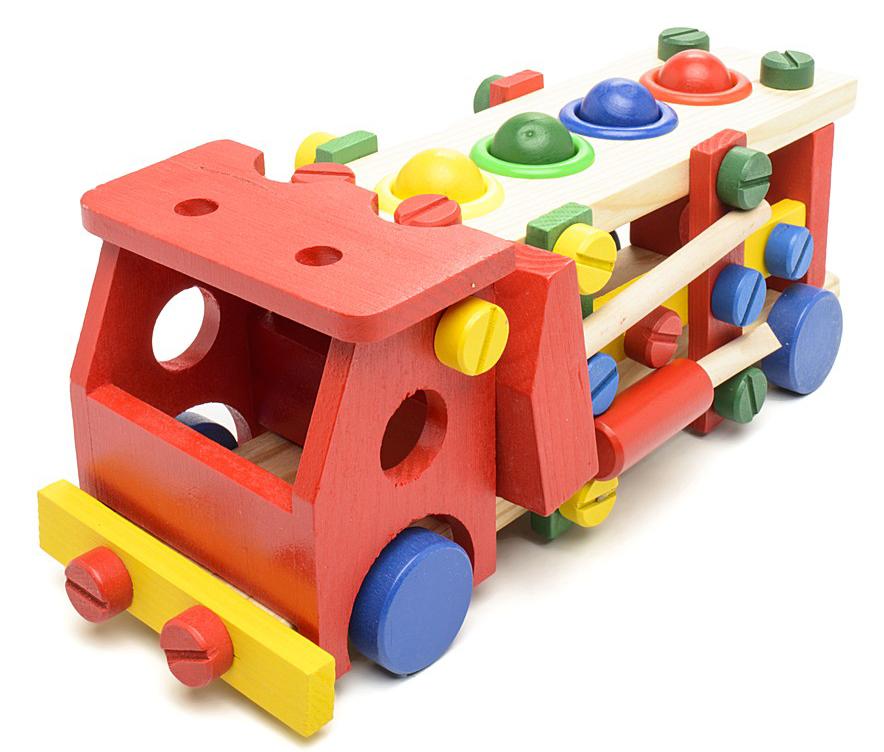 Деревянные игрушки Фабрика Фантазий Машинка цена