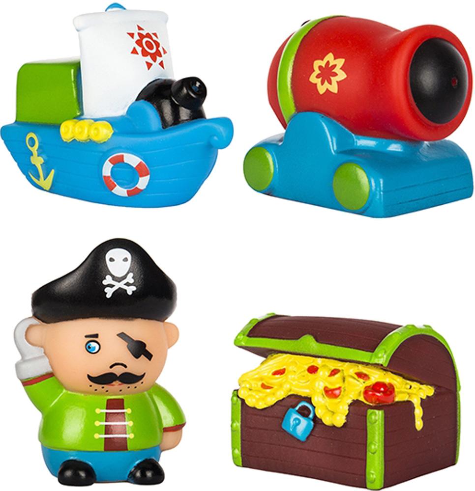 Игрушки для ванны ПОМА Остров сокровищ игрушки для ванны пома кубики учим буквы