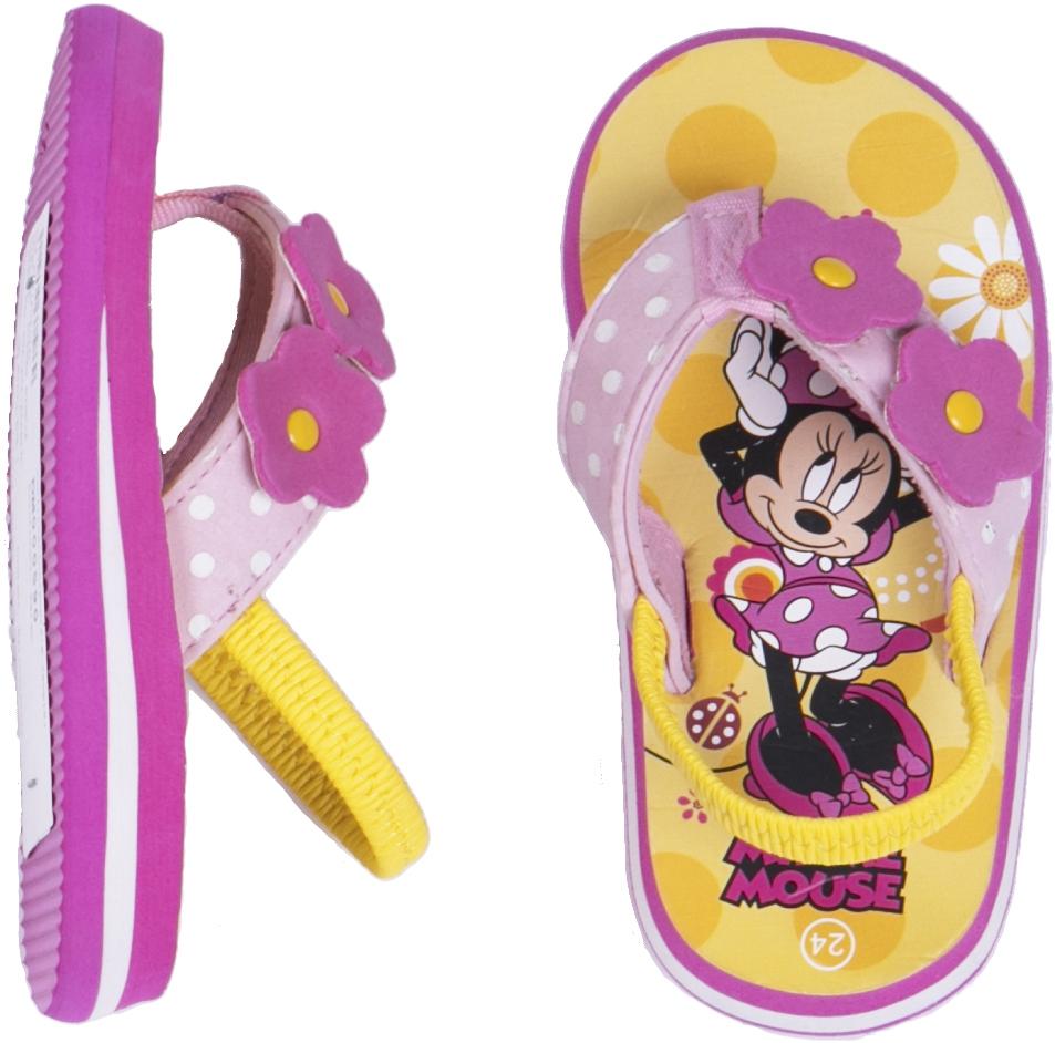Сланцы (пляжная обувь) Disney minnie Сланцы Disney minnie