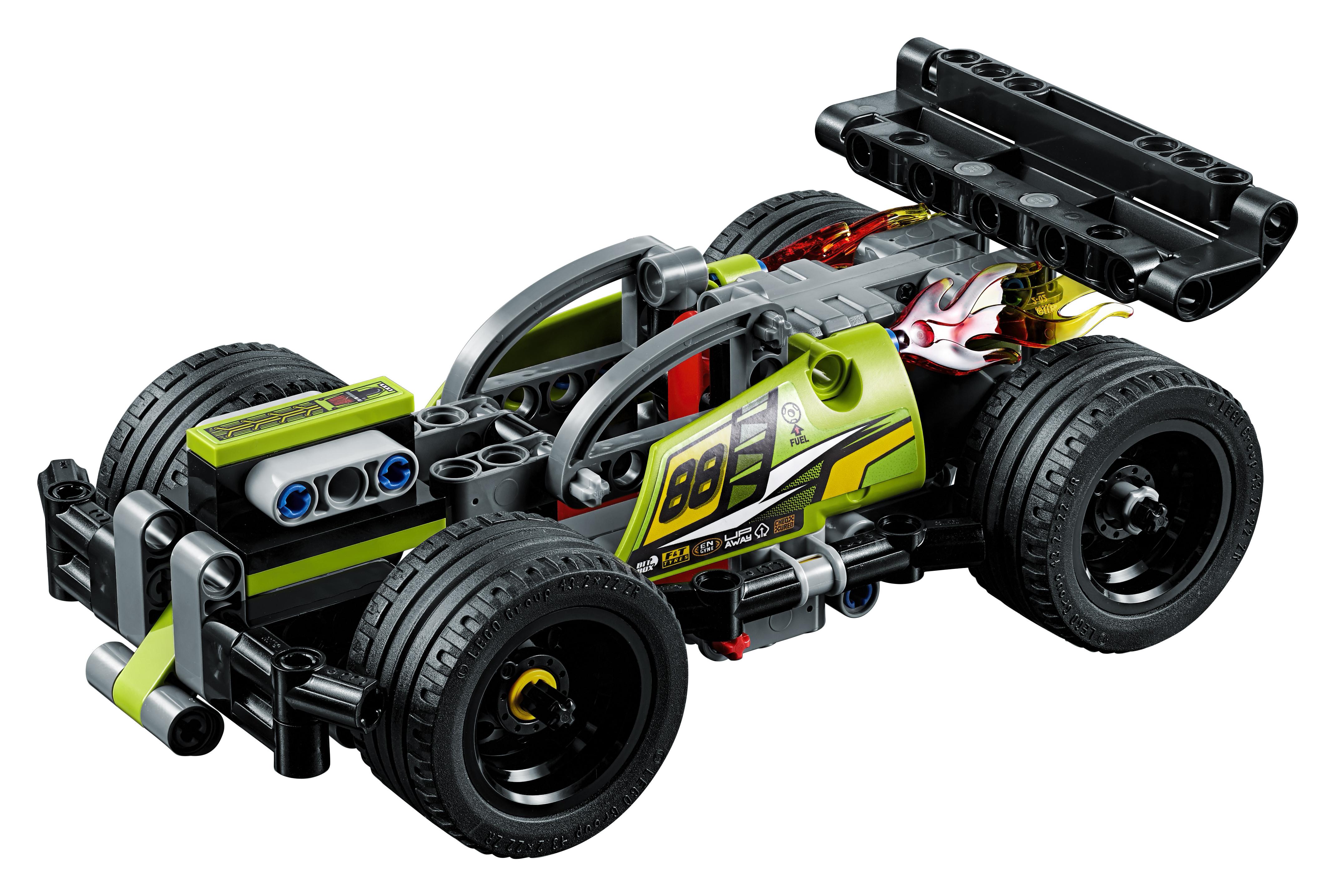 LEGO LEGO Конструктор LEGO Technic 42072 Зеленый гоночный автомобиль конструктор bauer автомобиль 282