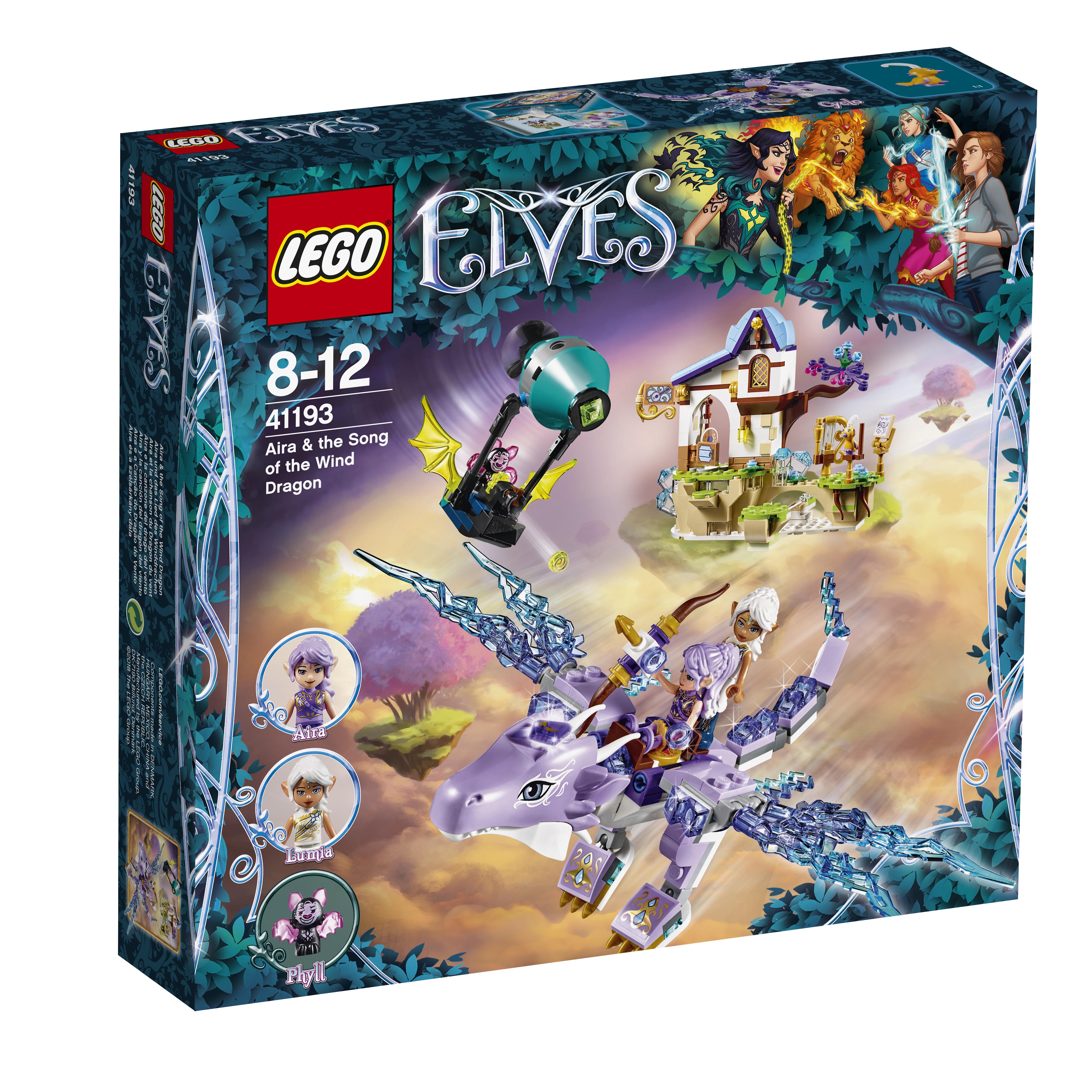 LEGO LEGO Elves 41193 Эйра и дракон Песня ветра конструктор lego elves 41178 логово дракона