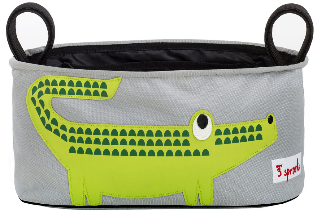 Сумка-органайзер 3 Sprouts Green Crocodile зеленый крокодил crocodile shaped eraser green grey 2 pcs