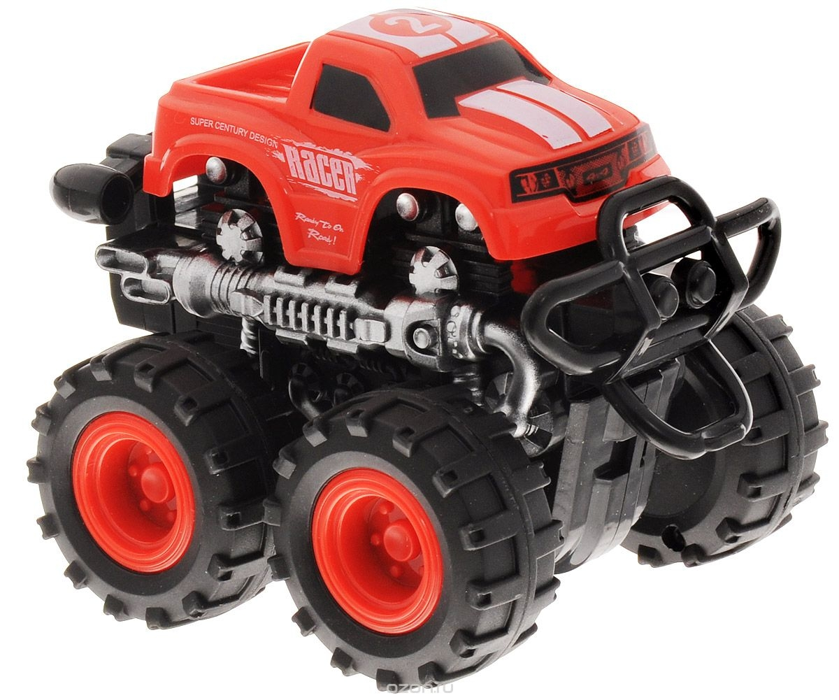 Фото - Машинки и мотоциклы BIG MOTORS Машинка инерционная Big Motors 4WD в асс. игрушка big машинка maxi truck 55810