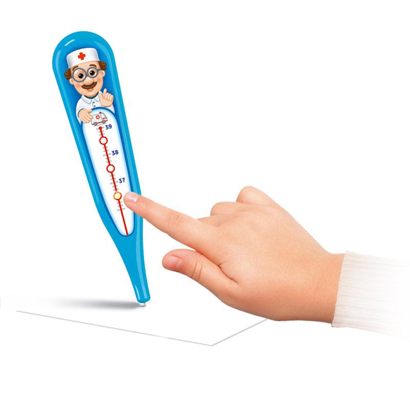 Развивающая игрушка Азбукварик Говорящий градусник азбукварик электронная игрушка говорящий градусник цвет синий