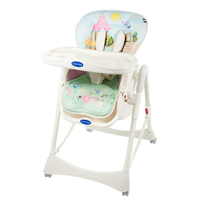 Стульчики для кормления Sweet Baby Стульчик для кормления Sweet Baby «Happy Land» стульчик для кормления sweet baby candy land