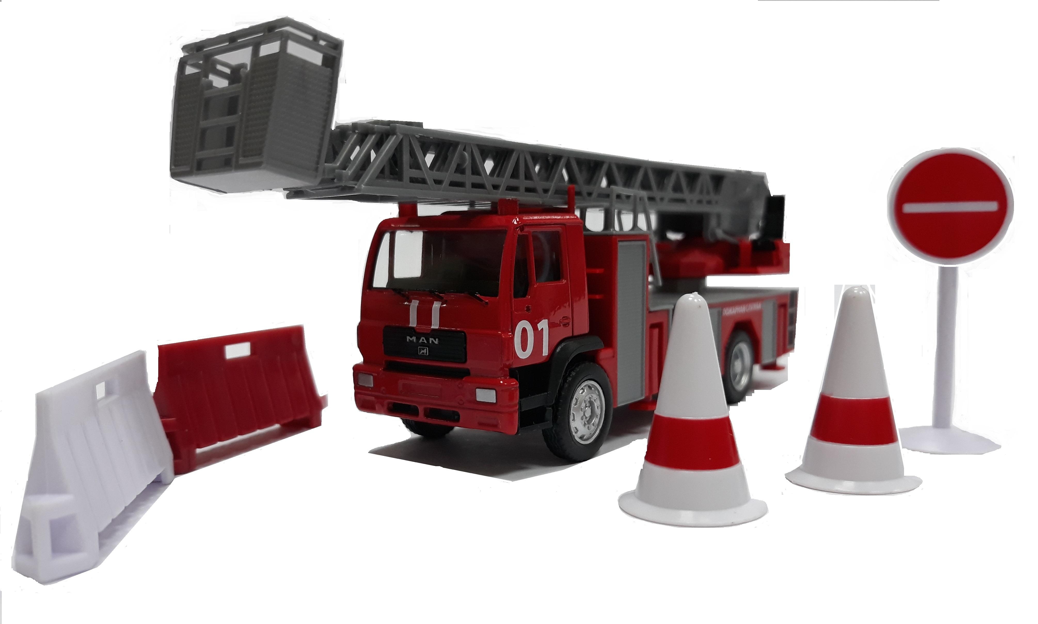 Набор Технопарк Пожарная машина 242505
