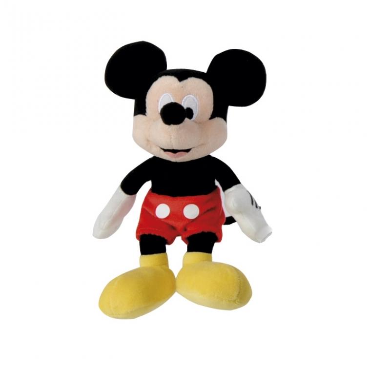 Мягкая игрушка Nicotoy Микки Маус 20 см 5872631 imc toys disney мягкая игрушка микки и весёлые гонки поцелуй от микки 34 см интеракт звук