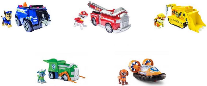 Paw Patrol Paw Patrol Игрушка Paw Patrol Машинка спасателя и щенок игровой набор paw patrol машинка спасателя и щенок в ассортименте