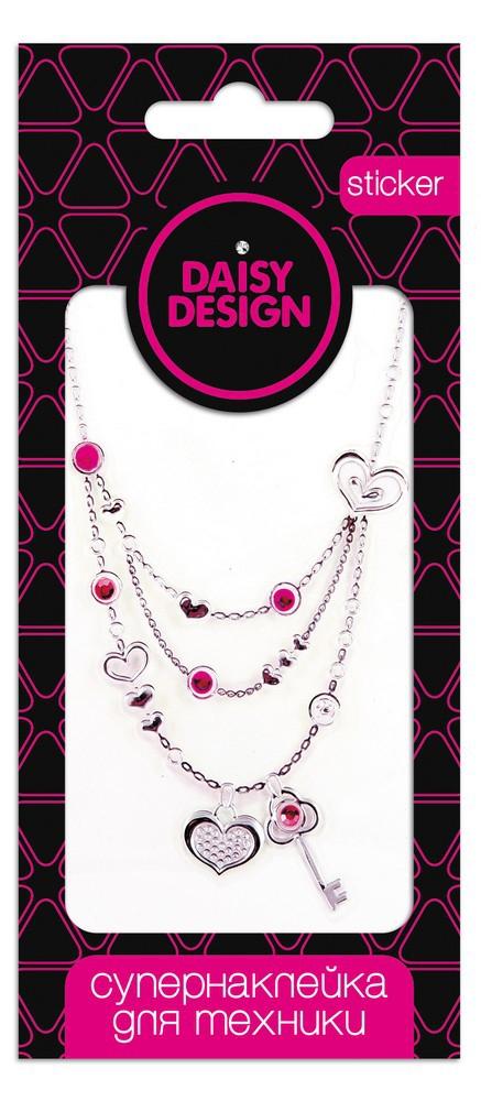 Украшения DAISY DESIGN Наклейка для техники Daisy Design «Sweet Hearts. Ключ от сердца» набор аксессуаров для волос daisy design sweet hearts бантик