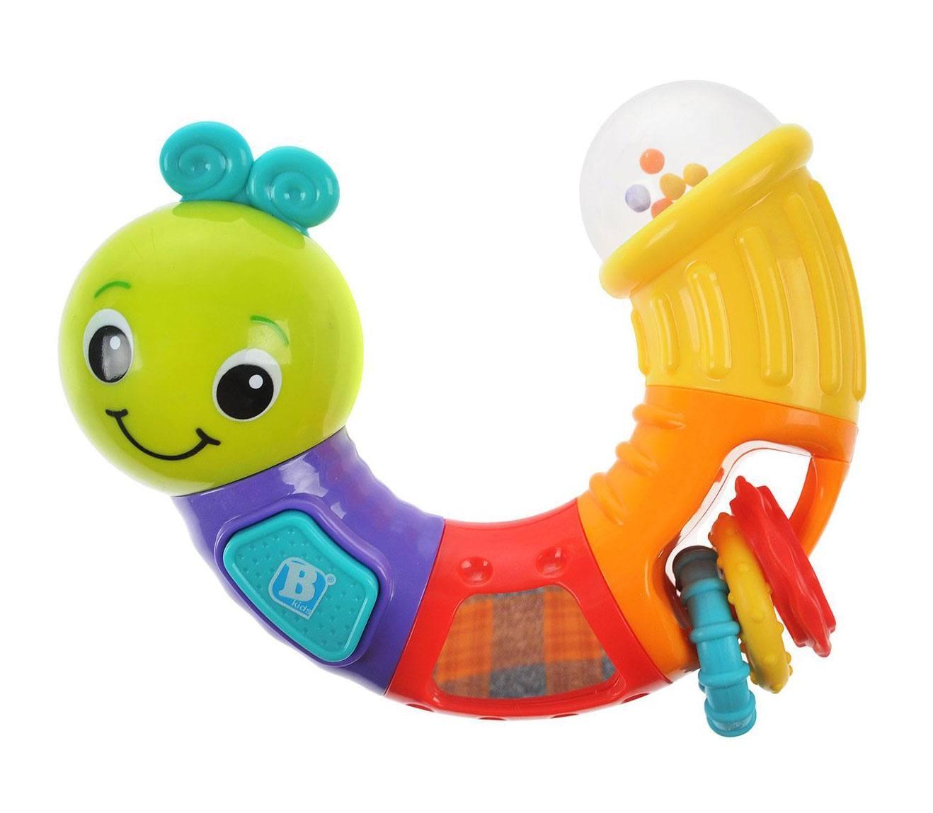 Купить Развивающие игрушки, Развивающая игрушка Bkids «Гусеница. Крути и играй», Китай, Новорожденный