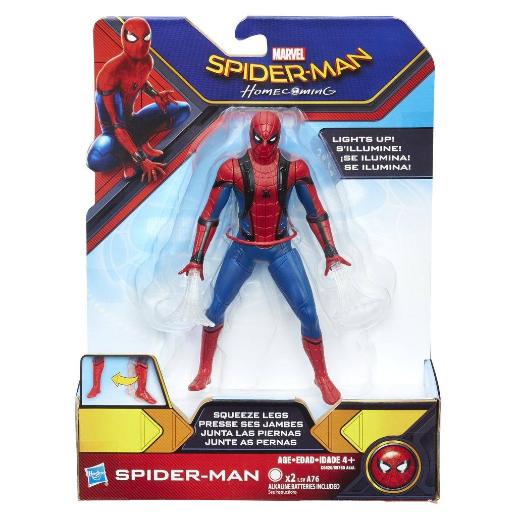 Spider Man Spider-man Паутинный город 15 см B9765 фигурка funko pop spider man homecoming spider man with headphones 9 5 см
