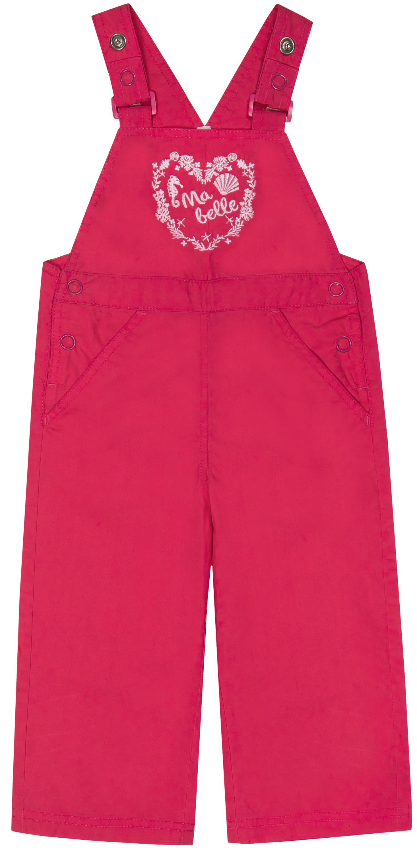 Полукомбинезоны Barkito Полукомбинезон для девочки Barkito Морская принцесса, розовый полукомбинезоны для новоржденных