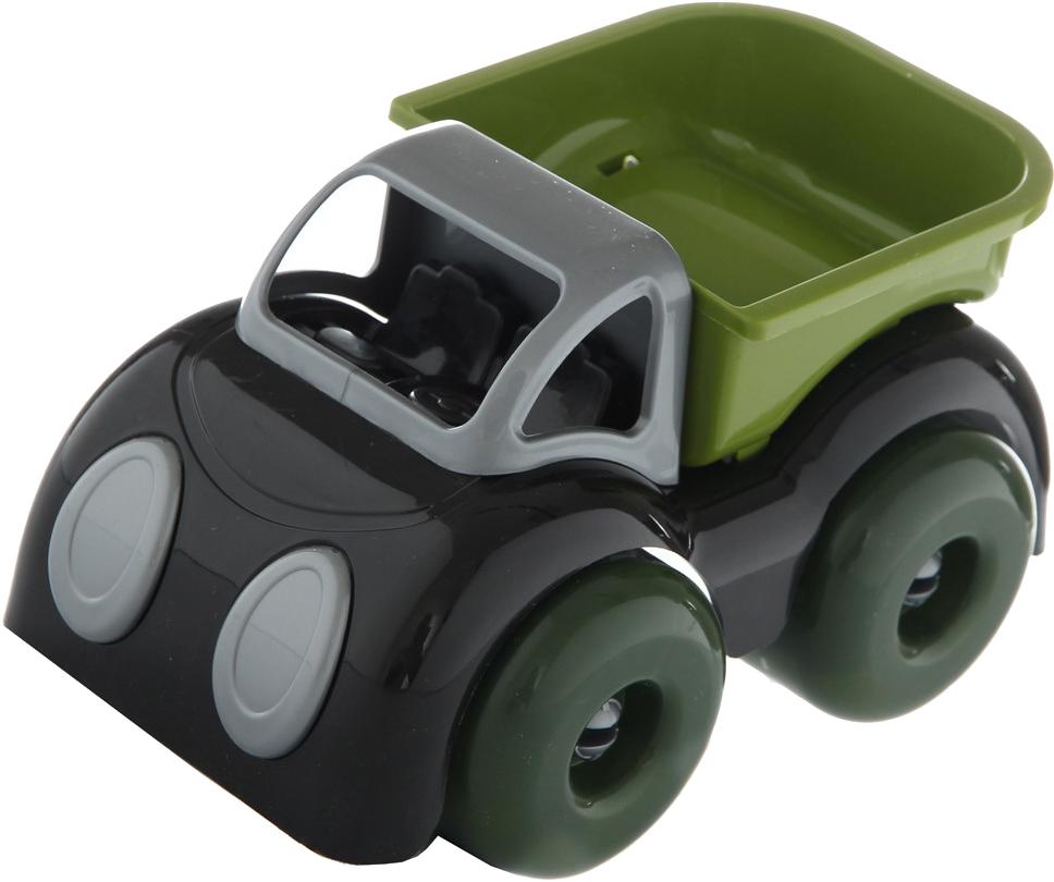 Купить Машинки для малышей, Малышок, Пластмастер, Россия, зеленый, серый, Мужской