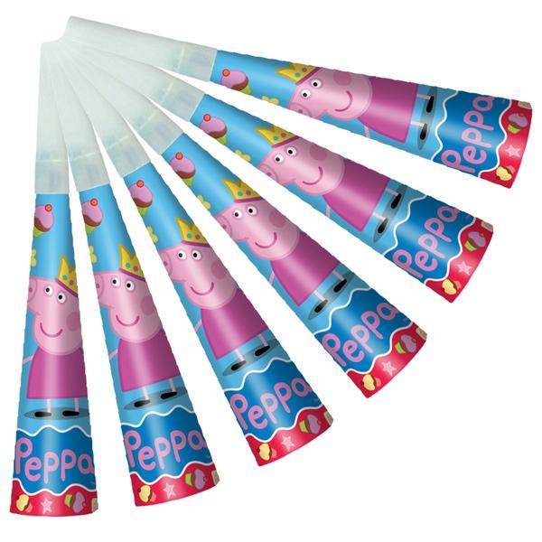 Peppa Pig Peppa Pig Набор дудочек Peppa Pig «Пеппа Принцеса» 6 шт. пазлы peppa pig 16a
