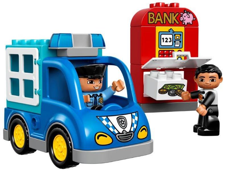 Конструктор LEGO DUPLO 10809 Полицейский патруль