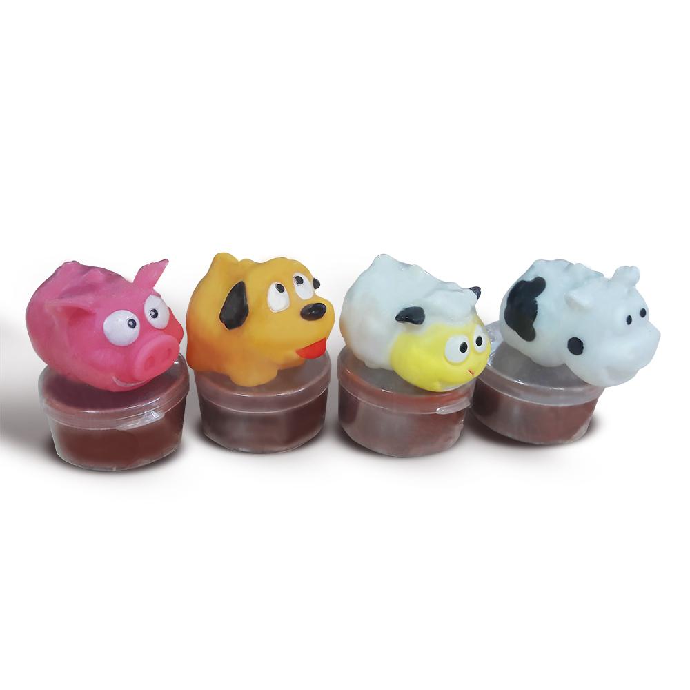 Наборы для творчества Junfa Слайм Junfa Toys «Crazy Poop» в асс. junfa игрушка антистресс junfa бутылочка молока 10 см
