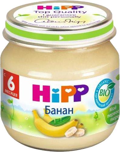 Фруктовое HIPP HiPP Банан (с 6 месяцев) 80 г овощное hipp hipp брокколи с 4 месяцев 80 г
