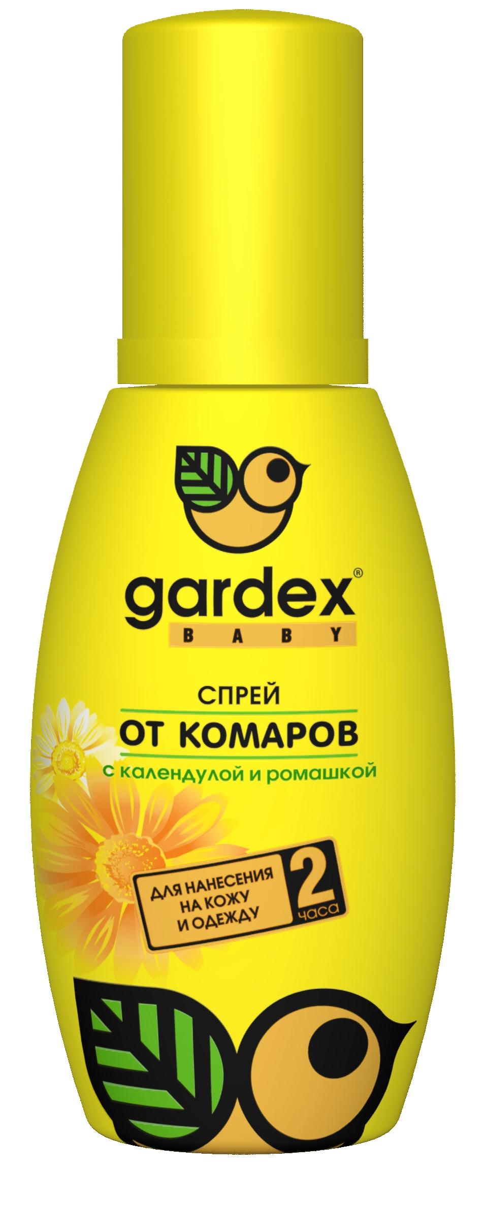 Средства от насекомых Gardex От комаров Baby 100 мл средства от насекомых picnic крем пенка от комаров 160 мл