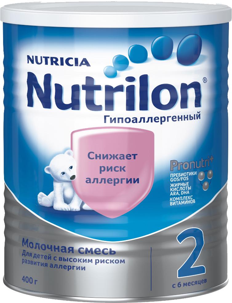 Молочная смесь Nutricia Nutrilon (Nutricia) 2 гипоаллергенный (c 6 месяцев) 400 г gos