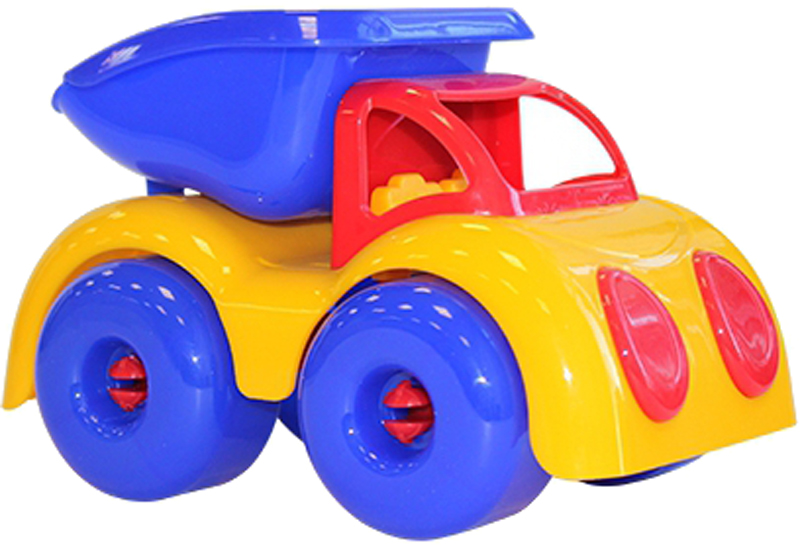 Фото - Самосвал Пластмастер Малышок игры и игрушки в дорогу пластмастер подвеска на коляску пластмастер нежность