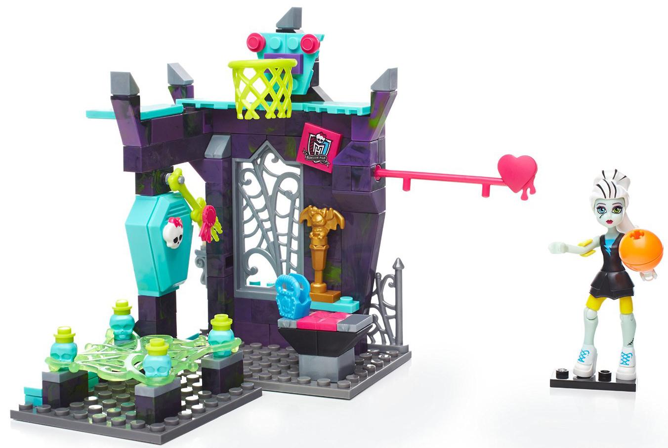 Конструкторы для малышей Mega Bloks Monster High Класс физкультуры mega bloks monster high персонажи монстры скелита калаверас
