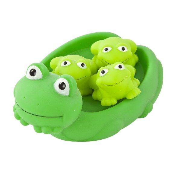 Игрушки для ванны Жирафики Набор игрушек для ванны Жирафики «Мама лягушка и лягушата» (мама и 3 лягушонка) игрушки для ванны жирафики набор для купания черепашка и пингвин