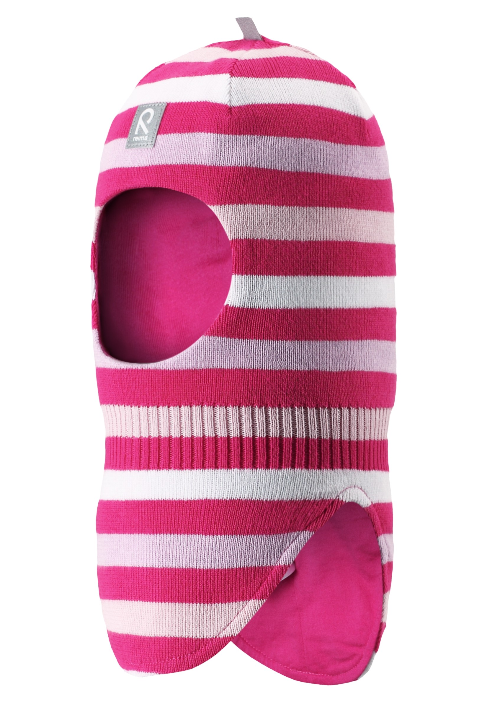 Головные уборы Reima Шапка-шлем для девочки Reima, розовый skiki skiki шапка шлем зимняя синяя