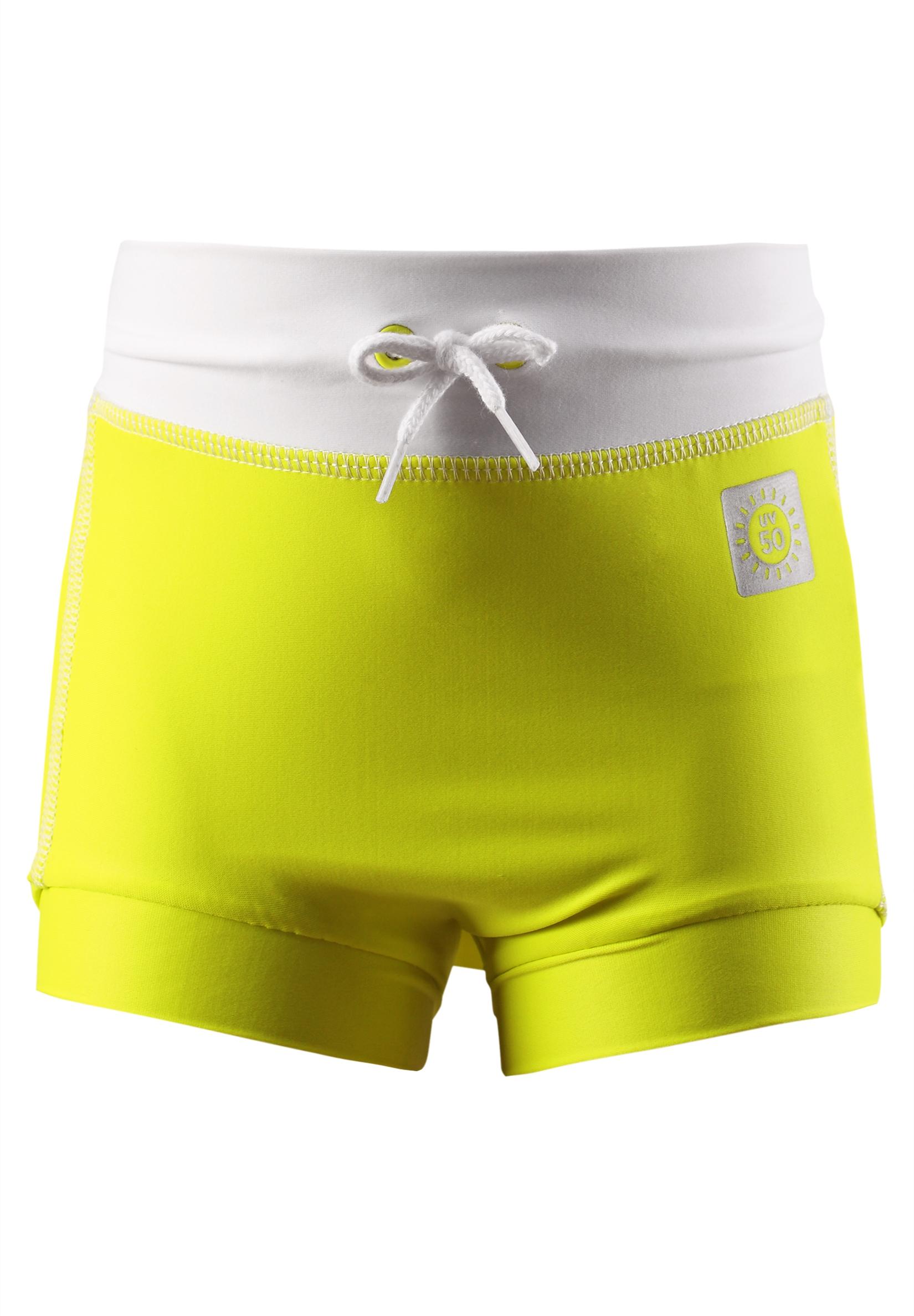 Купальники и плавки Reima Купальные брюки Swimming trunks, Belize hello yellow, желтые купальные плавки для мальчиков trunks spiderman