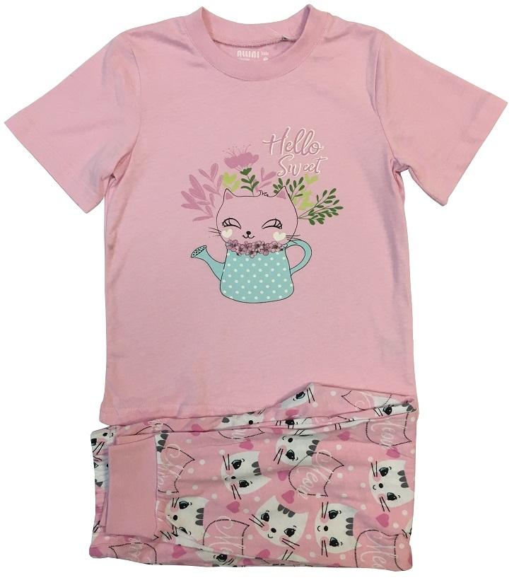 Пижама для девочки Allini 21679 пижама с шортами с рисунком