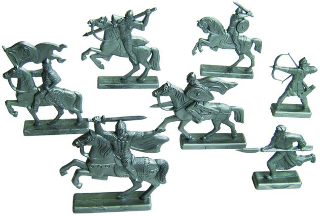 Солдатики Пластмастер Дружина набор солдатиков игрушкин дружина