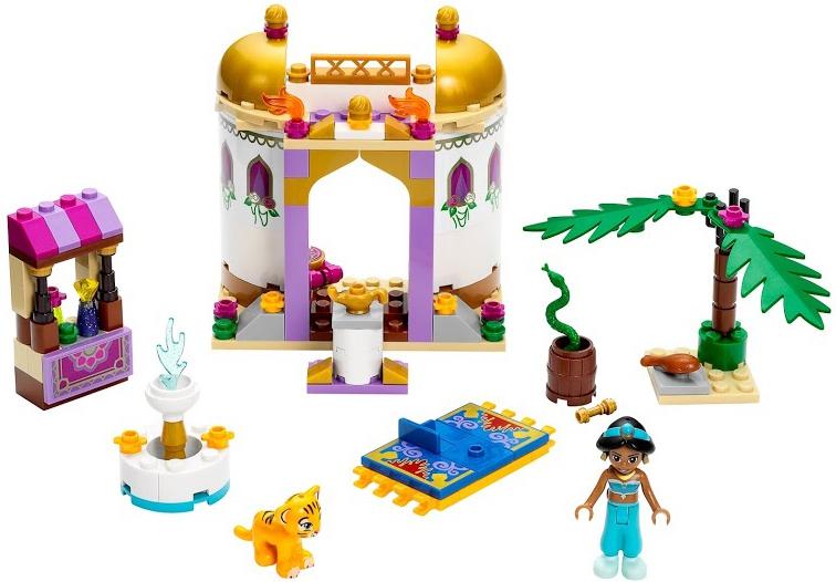 Конструктор LEGO Disney Princess Экзотический дворец Жасмин конструктор lego disney princess 41154 волшебный замок золушки