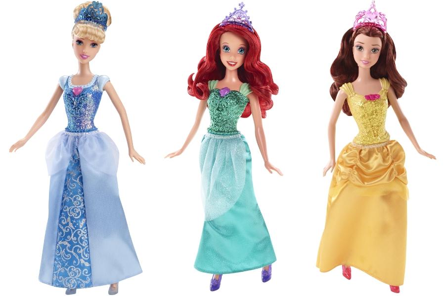 Кукла Mattel Принцесса disney princess disney princess маленькая кукла принцесса плавающая на круге