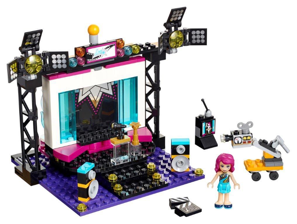 где купить LEGO LEGO Friends 41117 Телестудия поп-звезды дешево