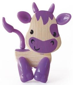 Деревянные игрушки Hape Фигурка деревянная Hape «Зверушки» 5 см в асс. игровые фигурки sonic boom фигурка наклз 7 5 см