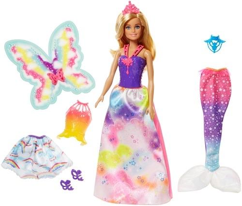 Barbie Barbie Сказочная принцесса-фея-русалка барби barbie barbie кукла barbie фея с летающими крыльями