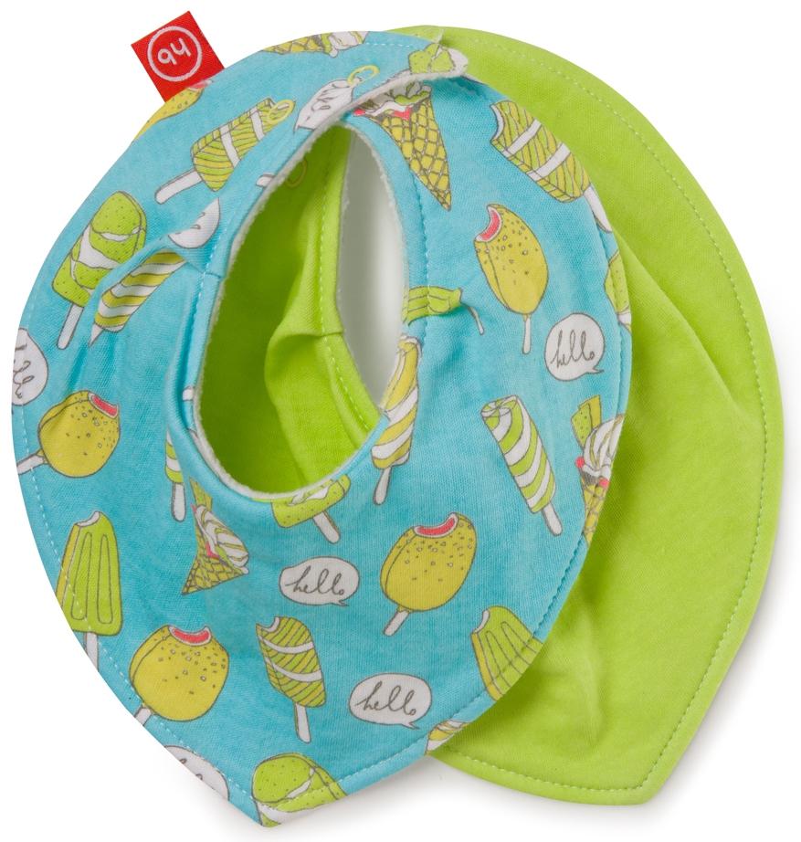 Слюнявчики для кормления Happy baby Набор нагрудников Happy Baby 2 шт. в ассортименте happy baby набор ложек для кормления baby spoon цвет зеленый 2 шт