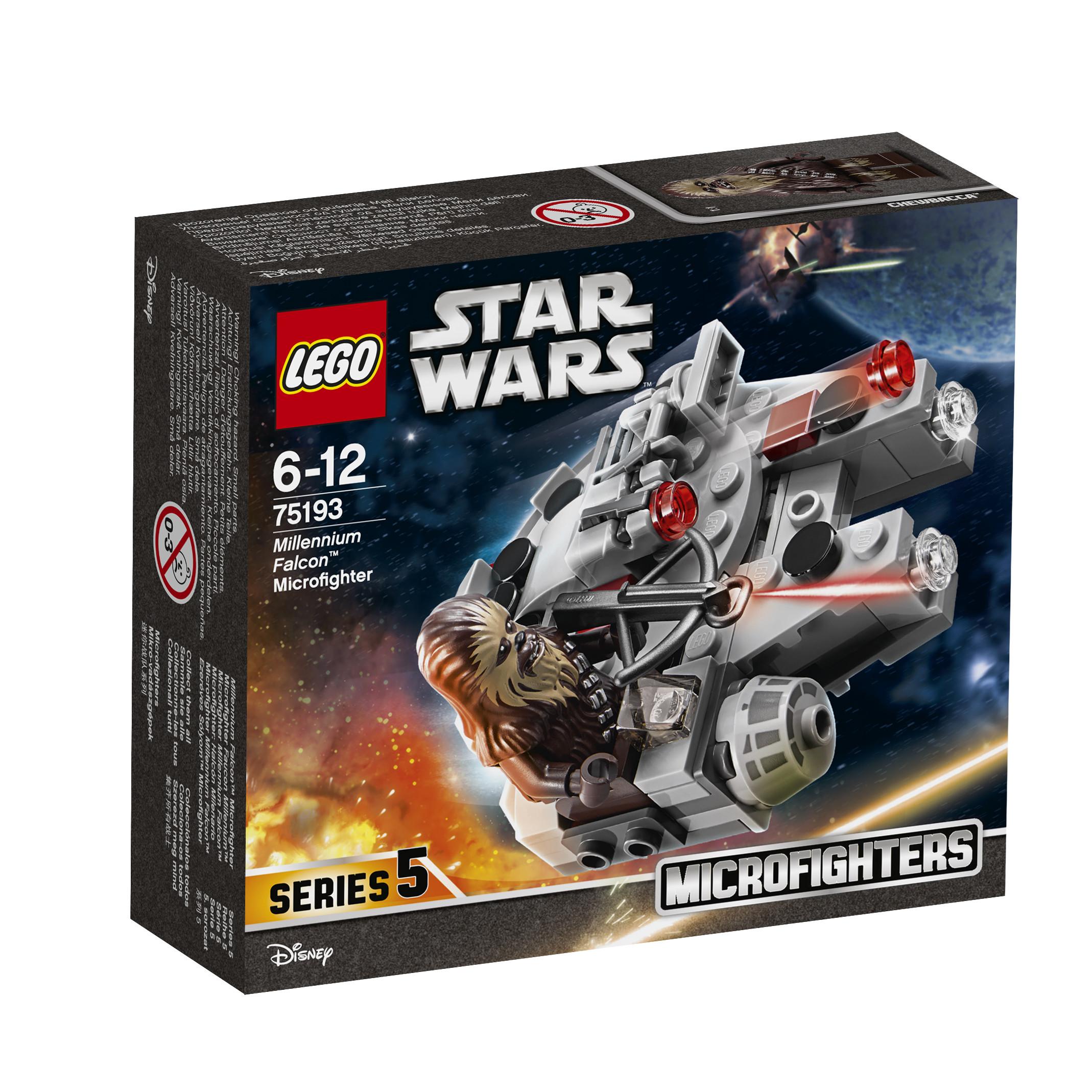 все цены на Конструктор LEGO Star Wars 75193 Микрофайтер Сокол Тысячелетия, 1шт. онлайн