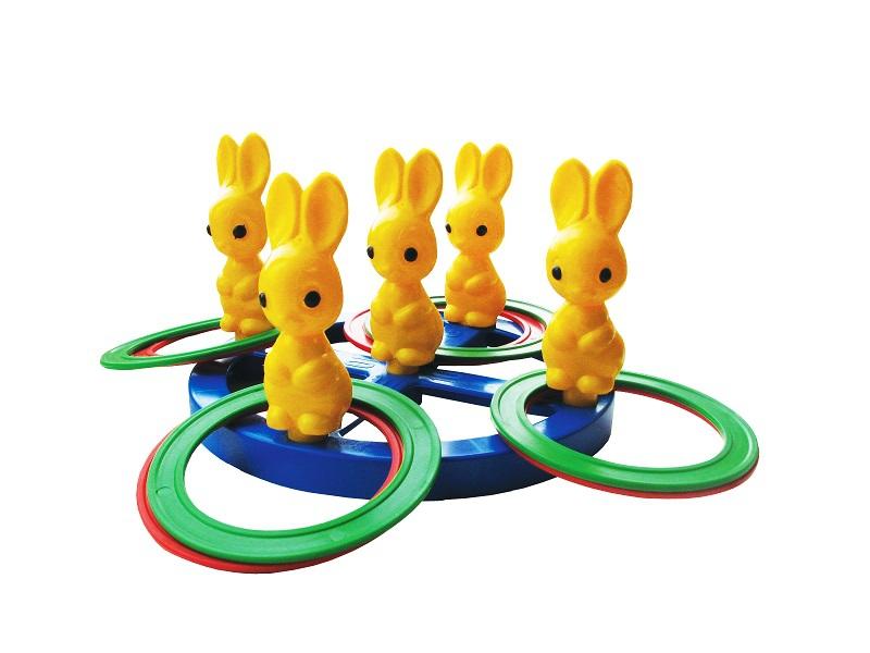 Спортивные игры и игрушки для улицы Пластмастер Зайчики